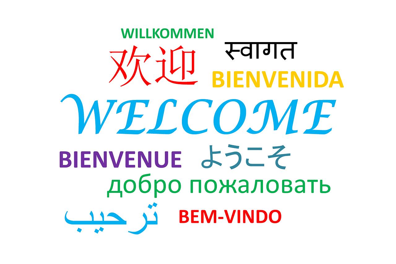 barrière langue mots et phrases types