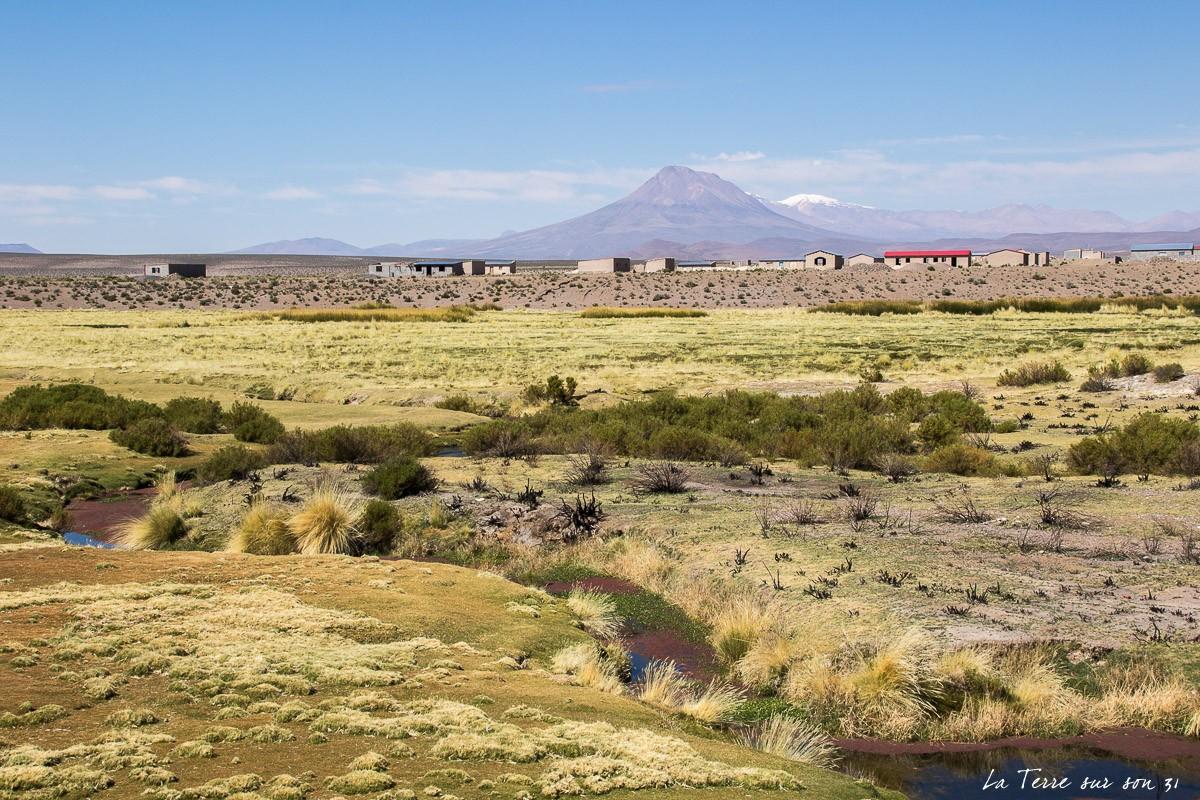 parc du volcan isluga chili