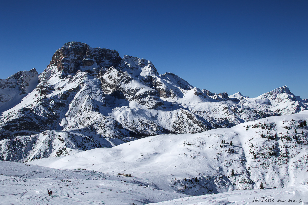 paysage au sommet du M. Te Specie