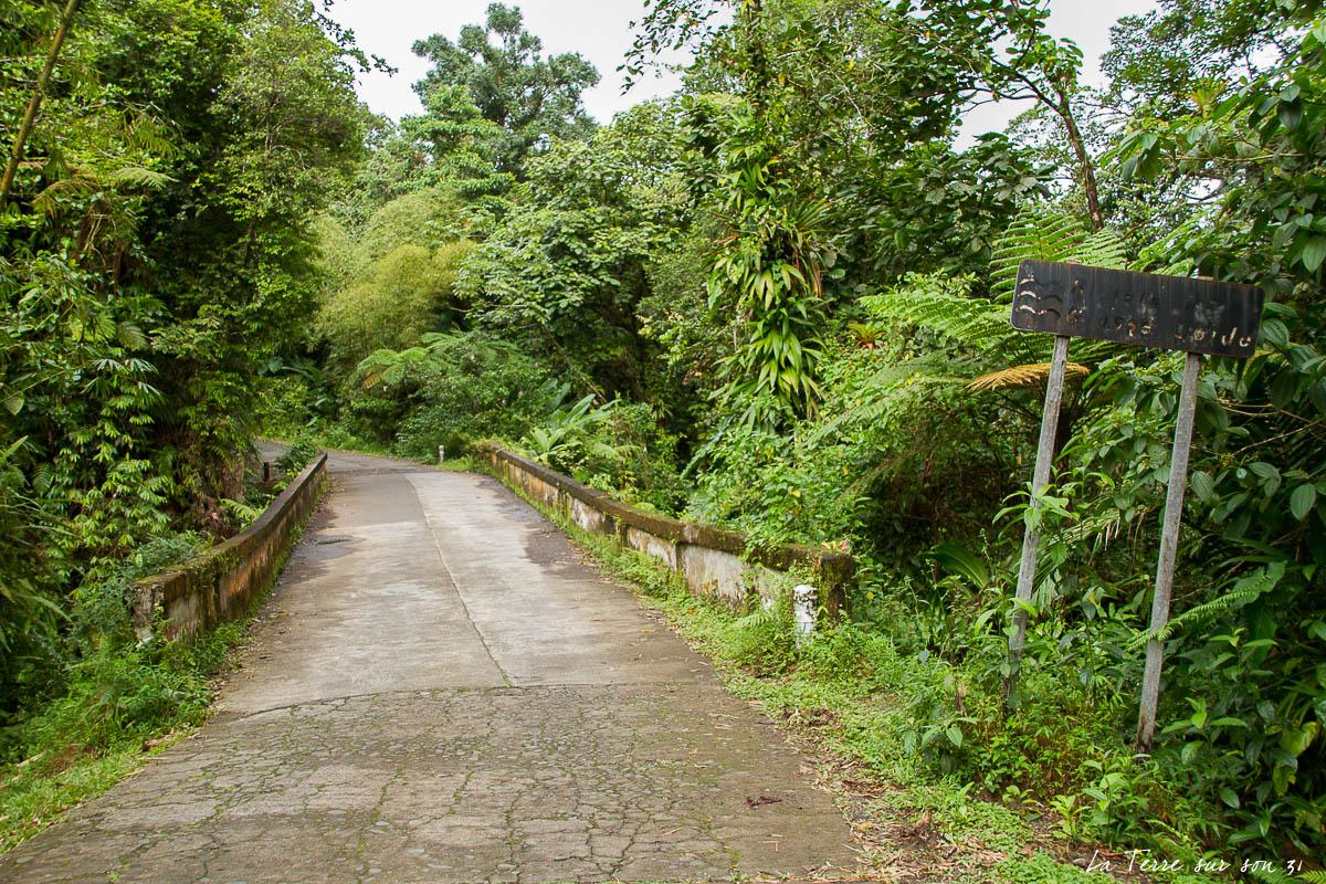 pont sur la rivière grosse corde guadeloupe