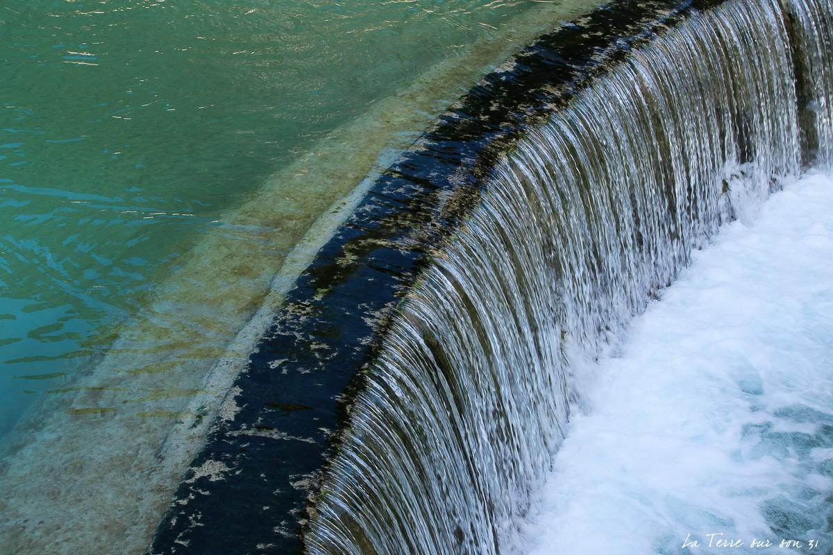 salernes cascade piscine