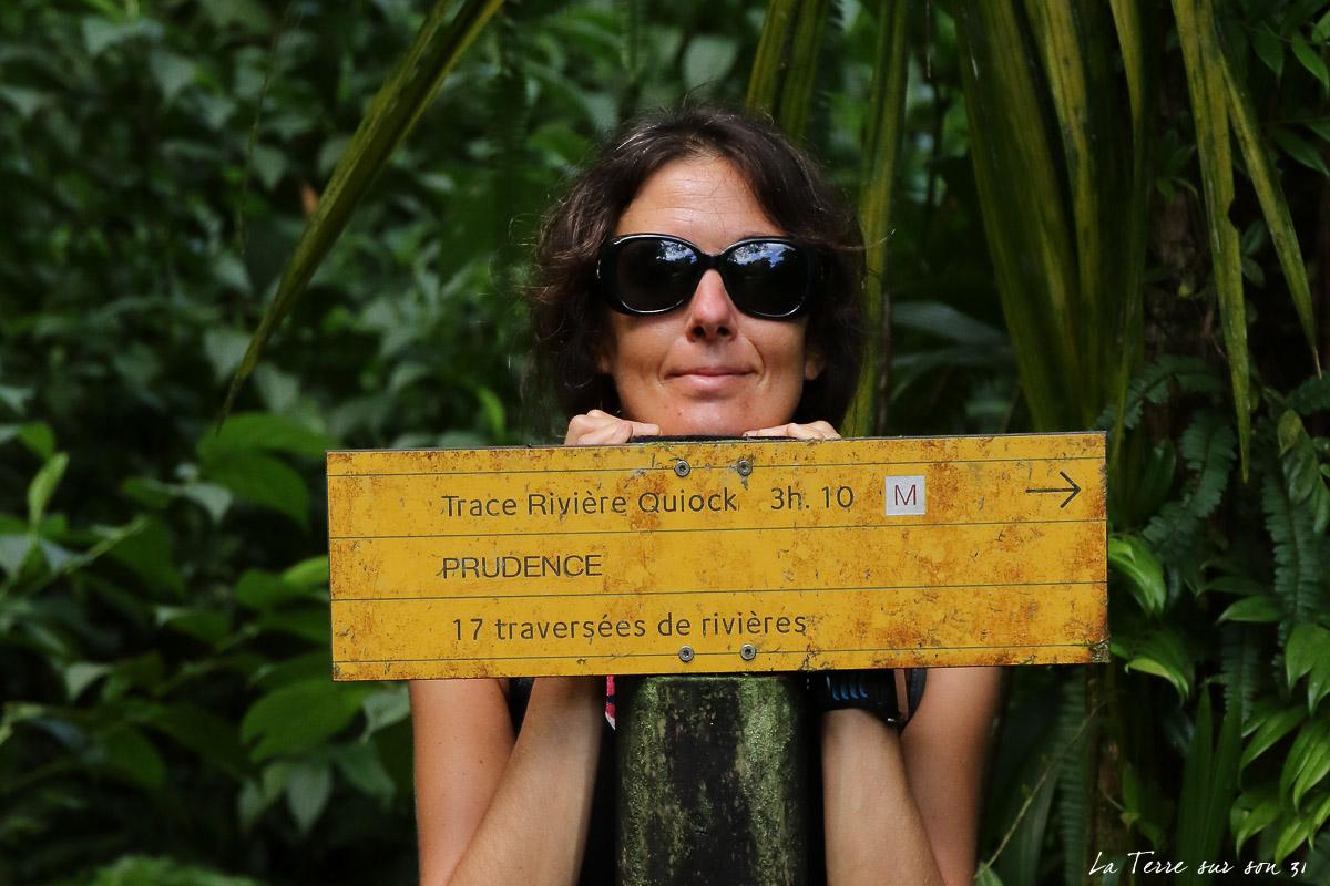 trace rando rivière quiock guadeloupe