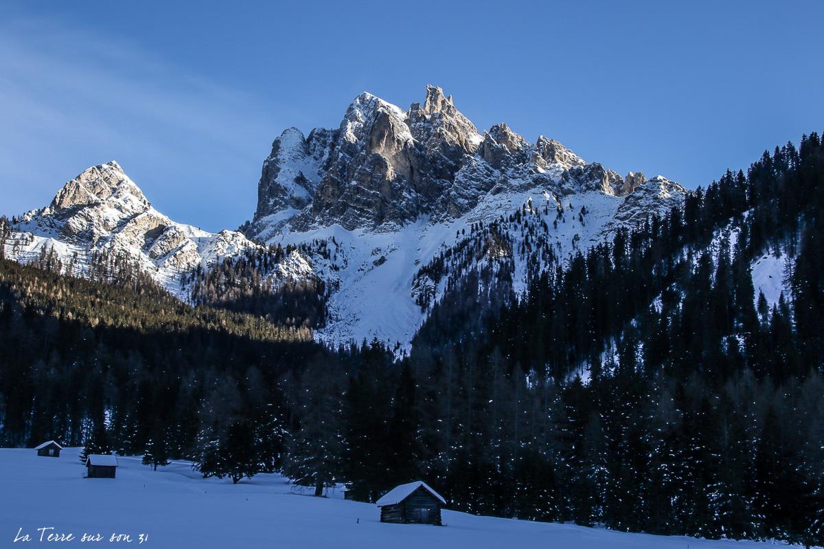 vers Brückele Ponticello Dolomites