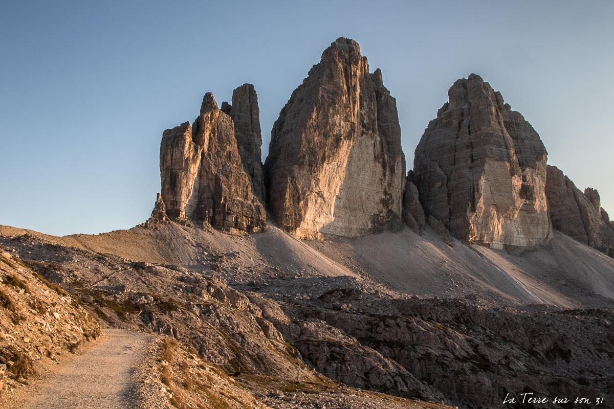 3 cime di Lavaredo dolomites été