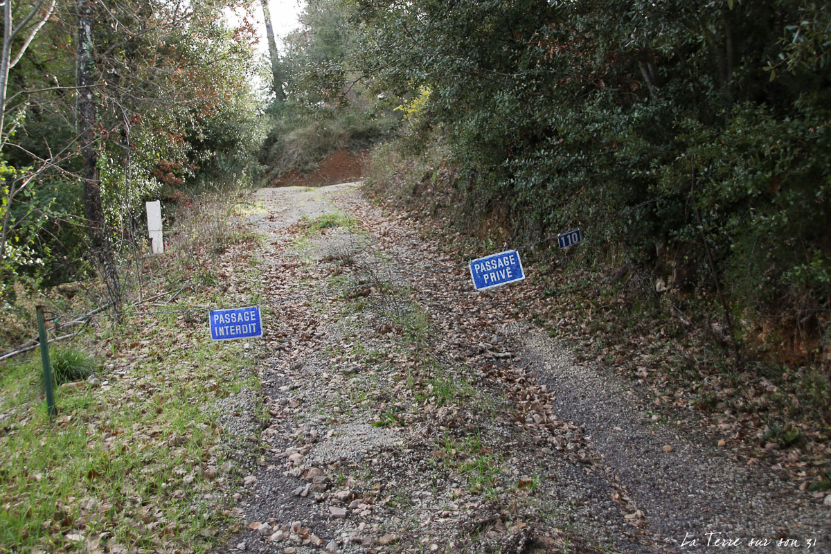 chemin privé salernes