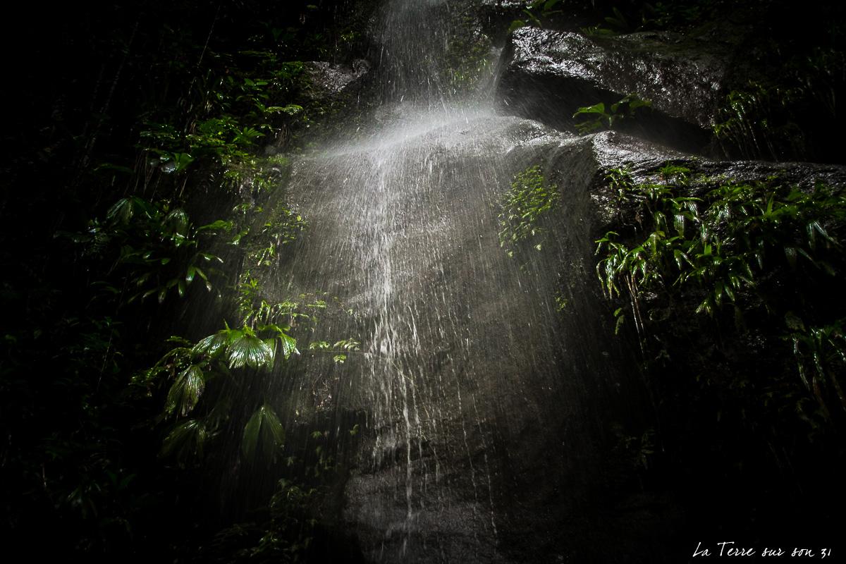 cascade bassin bleu guadeloupe
