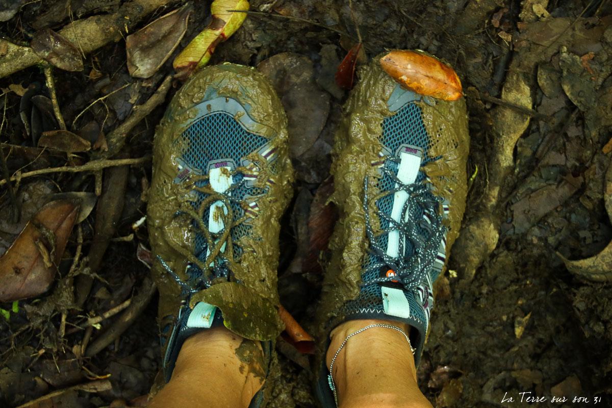 boue rando rivière quiock guadeloupe