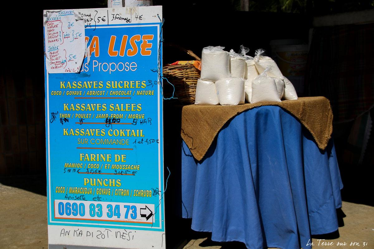 kassaverie guadeloupe vente produits manioc