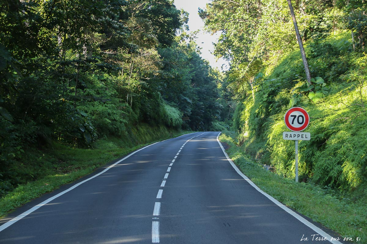 Route de la Traversée guadeloupe