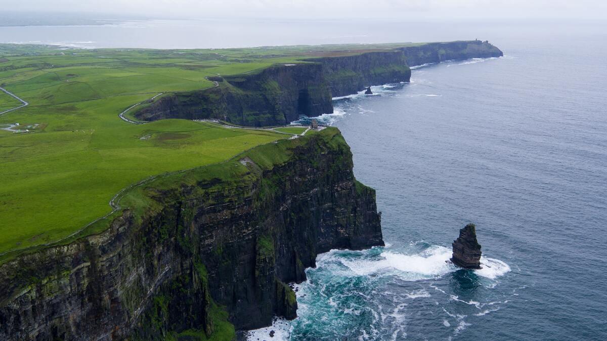 falaises irlande
